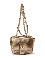 Manon Mini Bag Metal Leather - Platine