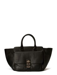Manon Tote Leather - Black