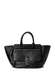 Manon Tote Leather - Noir