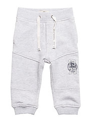 TRACK-SUIT - CHINE GREY