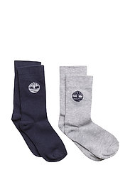 SOCKS (2) - GREY/BLUE NAVY