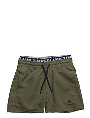 SWIM SHORTS - KHAKI