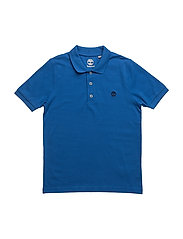 SHORT SLEEVE POLO - ELECTRIC BLUE