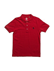 SHORT SLEEVE POLO - POPPY