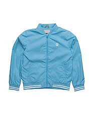 HOODED JACKET - BLUE