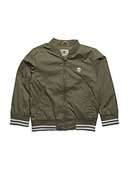 HOODED JACKET - KHAKI