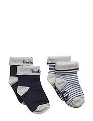 SOCKS (2) - PALE BLUE