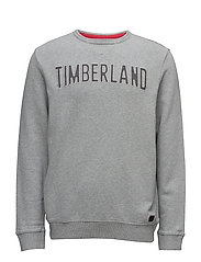 STONYBROOK CREW SWEAT - MEDIUM GREY MELANGE