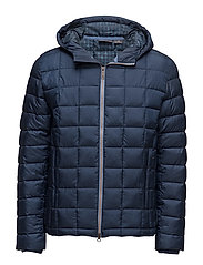 MILFORD HOODED 300GR JACKET - TIM DRESS BLUE