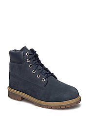 6IN PREMIUM WP BOOT - NAVY NUBUCK