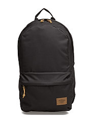 22L BACKPACK WITH PATCH - BLACK