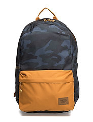 22L BACKPACK PRINT - BLUE CAMO