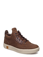 AMHERST HIGH TOP CHUKKA - POTTING SOIL VECCHIO