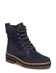 COURMAYEUR VALLEY YB - DARK BLUE EARTHYBUCK W/NAVY CHARRED SUEDE