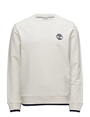 Westfield River Tipped Crew Sweat - PICKET FENCE