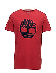 SS KENNEBEC RIVER TREE TEE - CHILI PEPPER