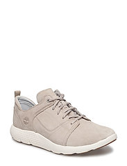 FLYROAM LEATHER OXFORD - PURE CASHMERE