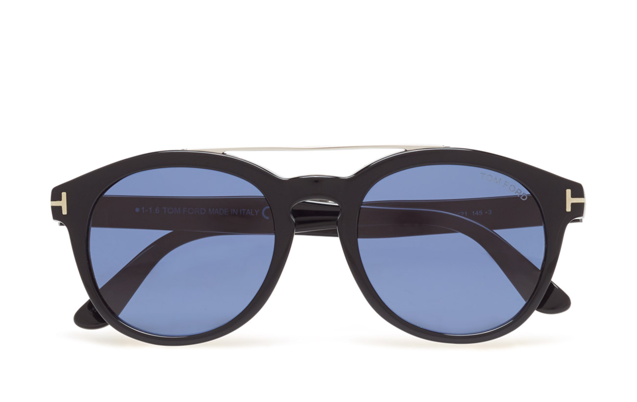 c7eec9f3046 Tom Ford Newman (01v - shiny Black   Blue) (1988 kr) -. Browse Stylights  collection of Mens Tom Ford® Sunglasses  ...