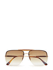 Tom Ford Nils - 28F - SHINY ROSE GOLD / GRADIENT BROWN