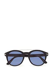 Tom Ford Newman - 01V -SHINY BLACK / BLUE