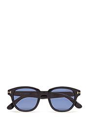 Tom Ford Garett - 01V -SHINY BLACK / BLUE