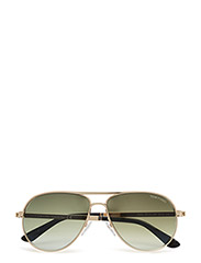 Tom Ford Marko - 28P - SHINY ROSE GOLD / GRADIENT GREEN
