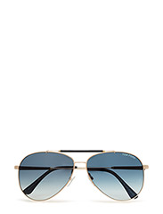 Tom Ford Rick - 28W -SHINY ROSE GOLD / GRADIENT BLUE