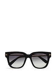 Tom Ford Tracey - 01B - SHINY BLACK / GRADIENT SMOKE