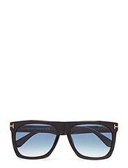 Tom Ford Morgan - 01W SHINY BLACK  / GRADIENT BLUE