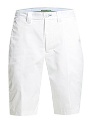 Bristol Solid Polyester Short - white