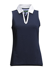 Maureen Sleeveless Polo - midnight
