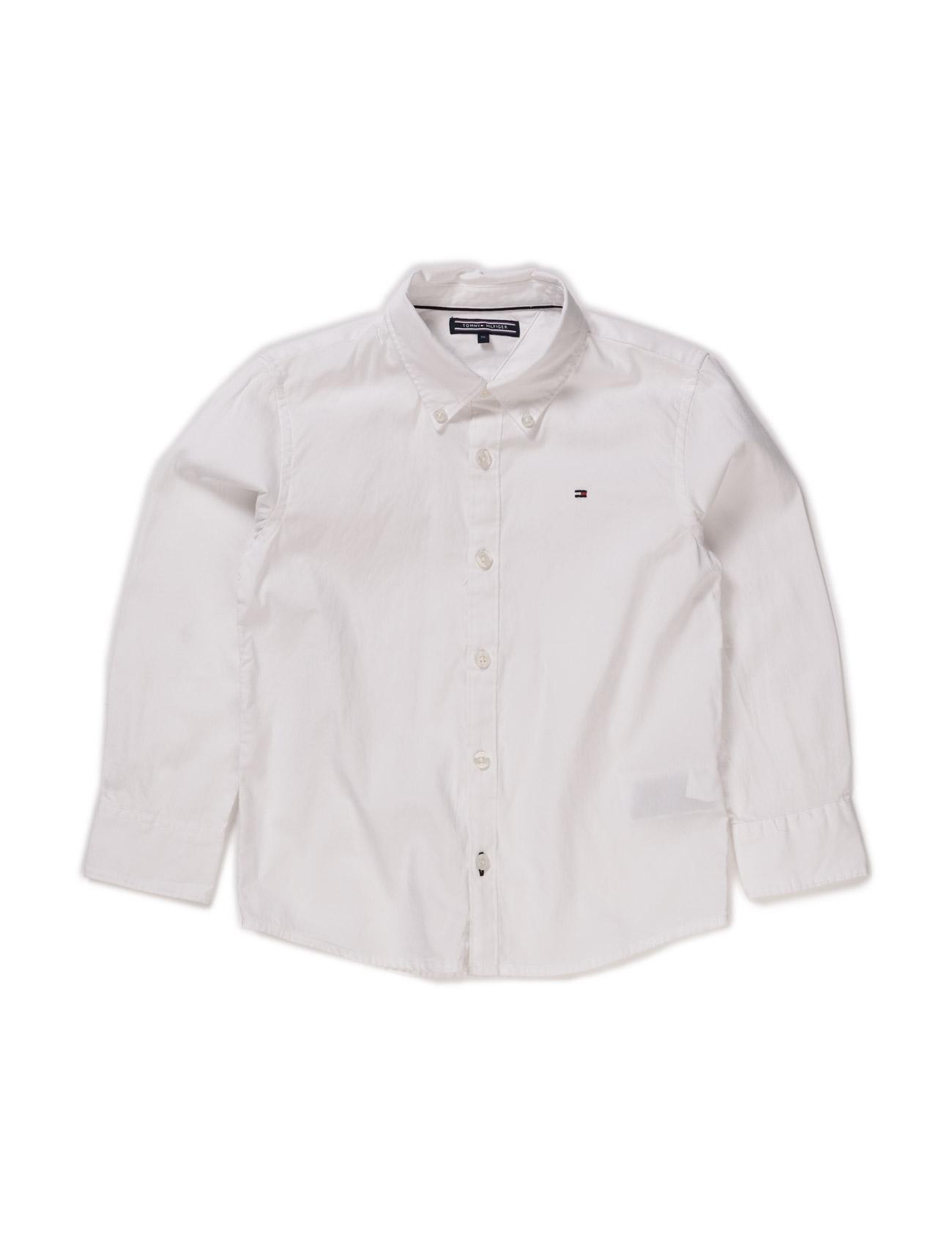 Solid Oxford Shirt L/S. Tommy Hilfiger Trøjer til Drenge i