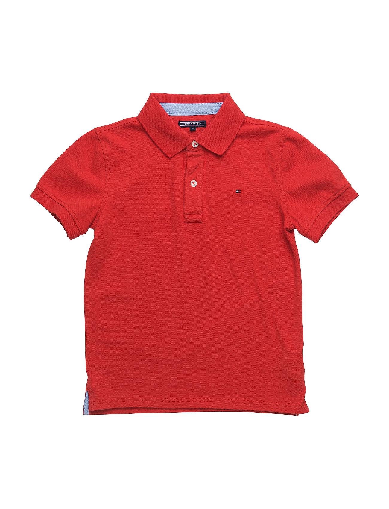 Ame Tommy Polo S/S Tommy Hilfiger T-shirts til Drenge i Rød