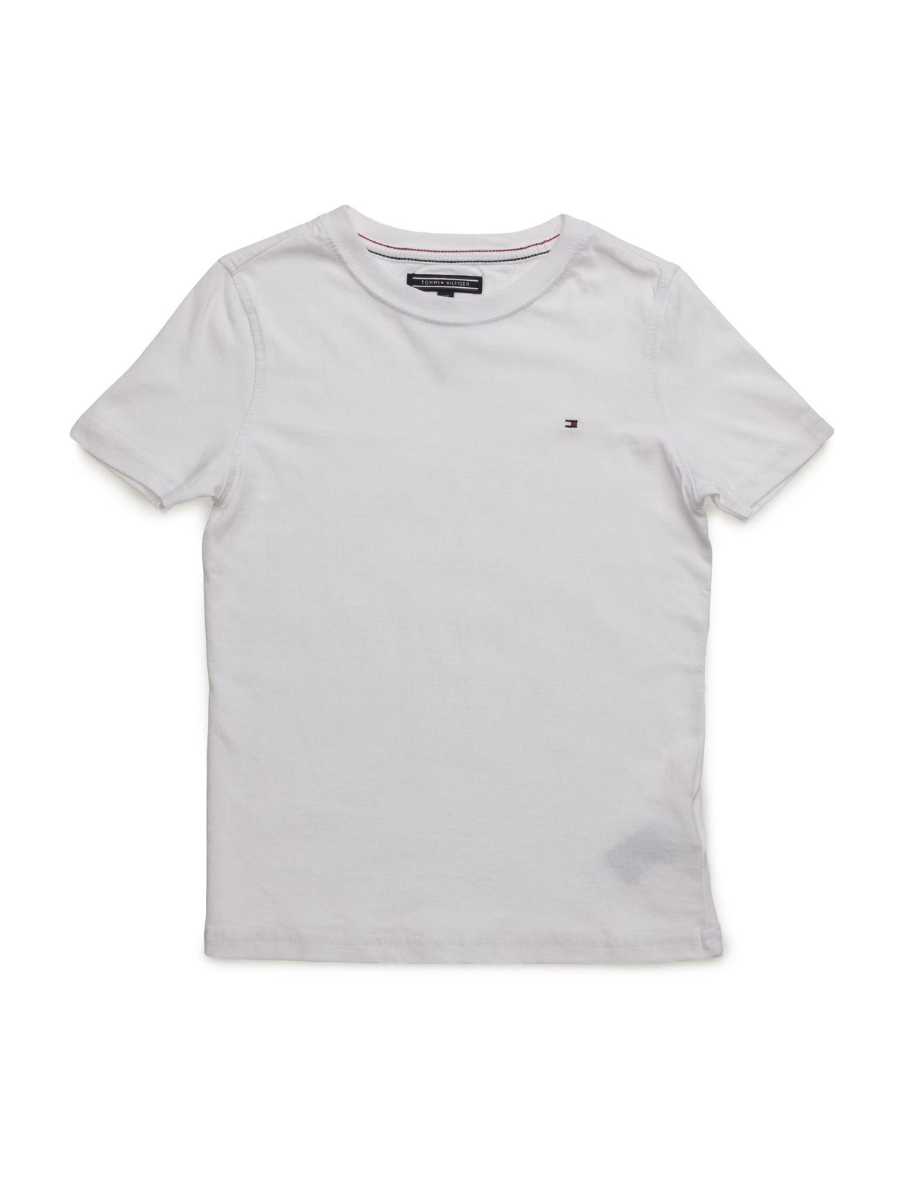 Original Cn Tee S/S. Tommy Hilfiger Kortærmede t-shirts til Børn i Grå