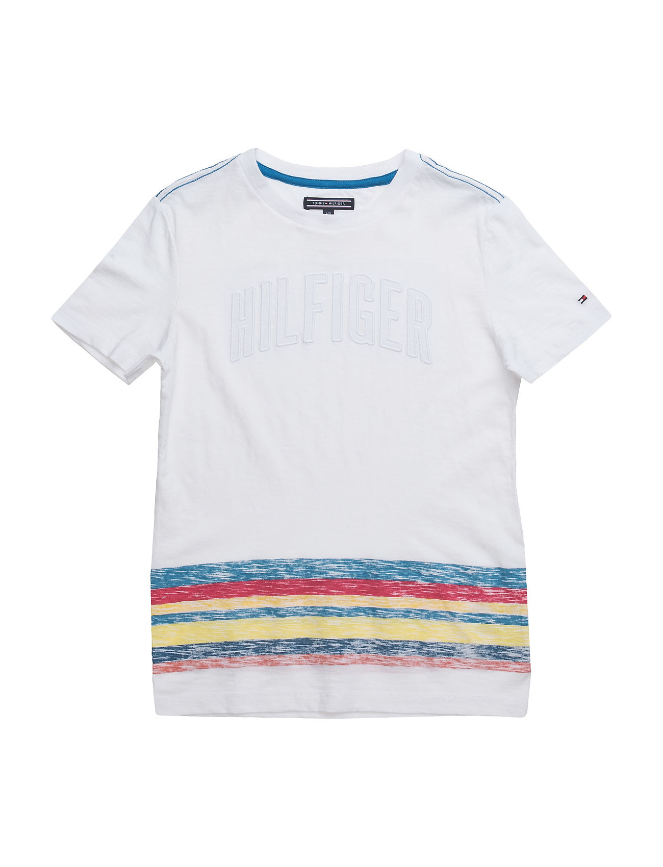 Surf Stripe Cn Tee S/S Tommy Hilfiger Kortærmede t-shirts til Børn i