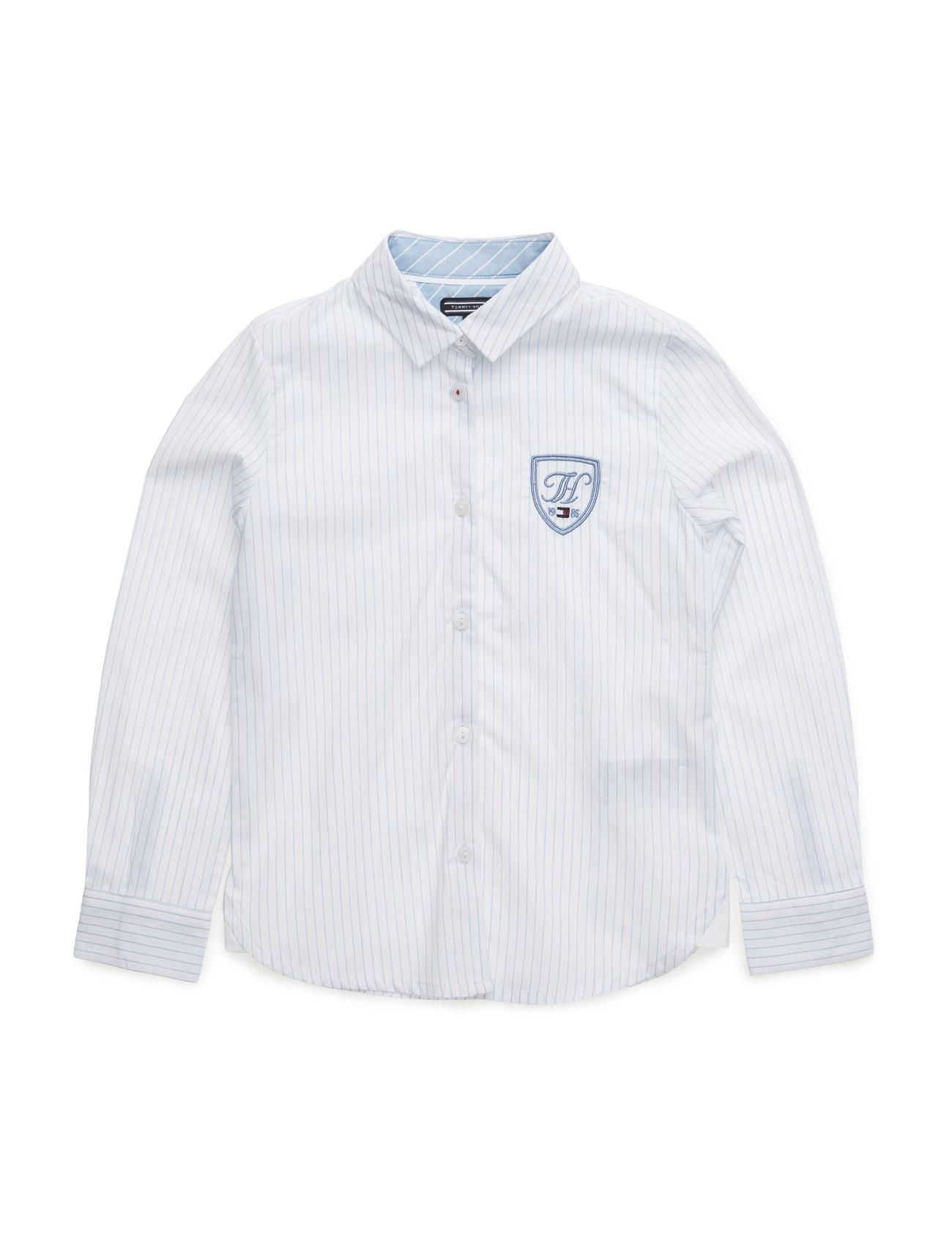 Dg Dasha Girls Shirt L/S Tommy Hilfiger  til Børn i