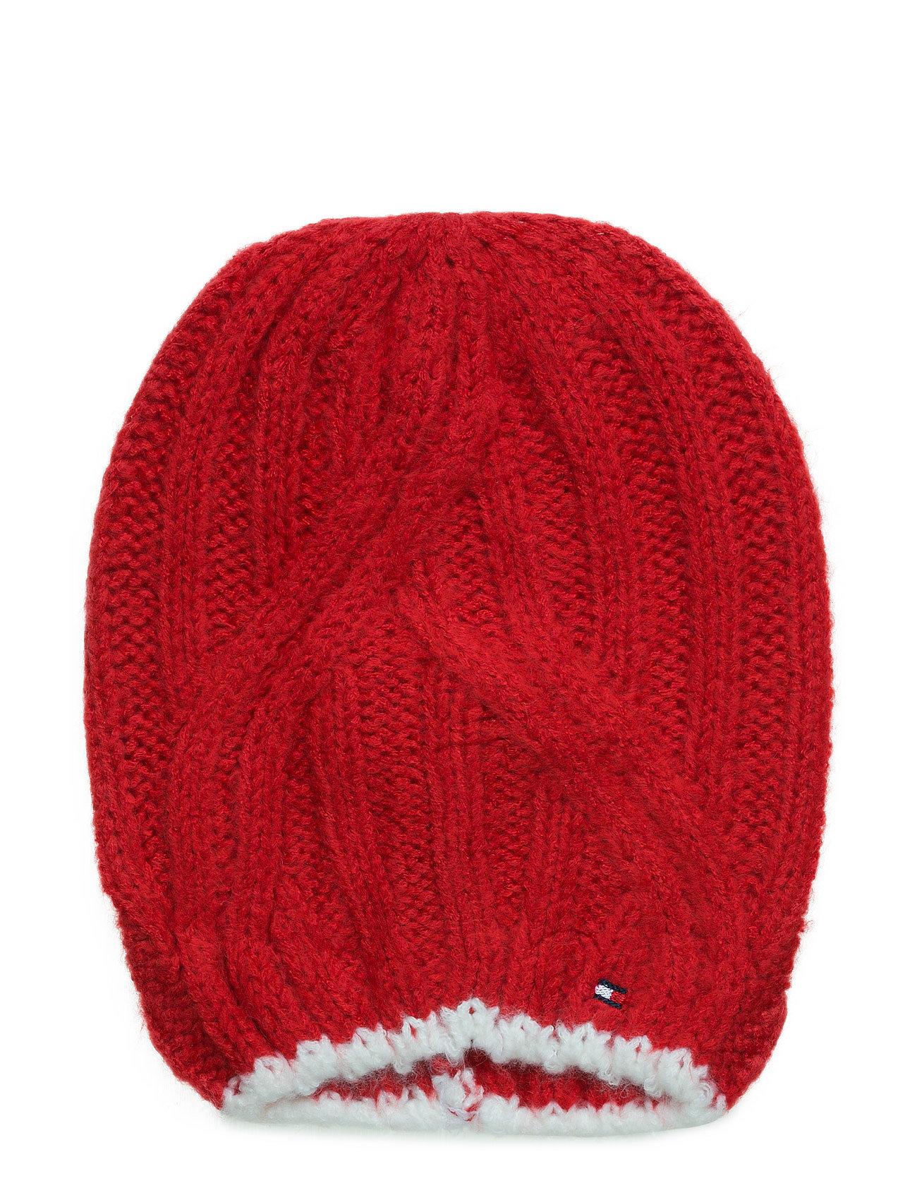 Solid Long Beanie Tommy Hilfiger Hatte & Caps til Børn i Rød