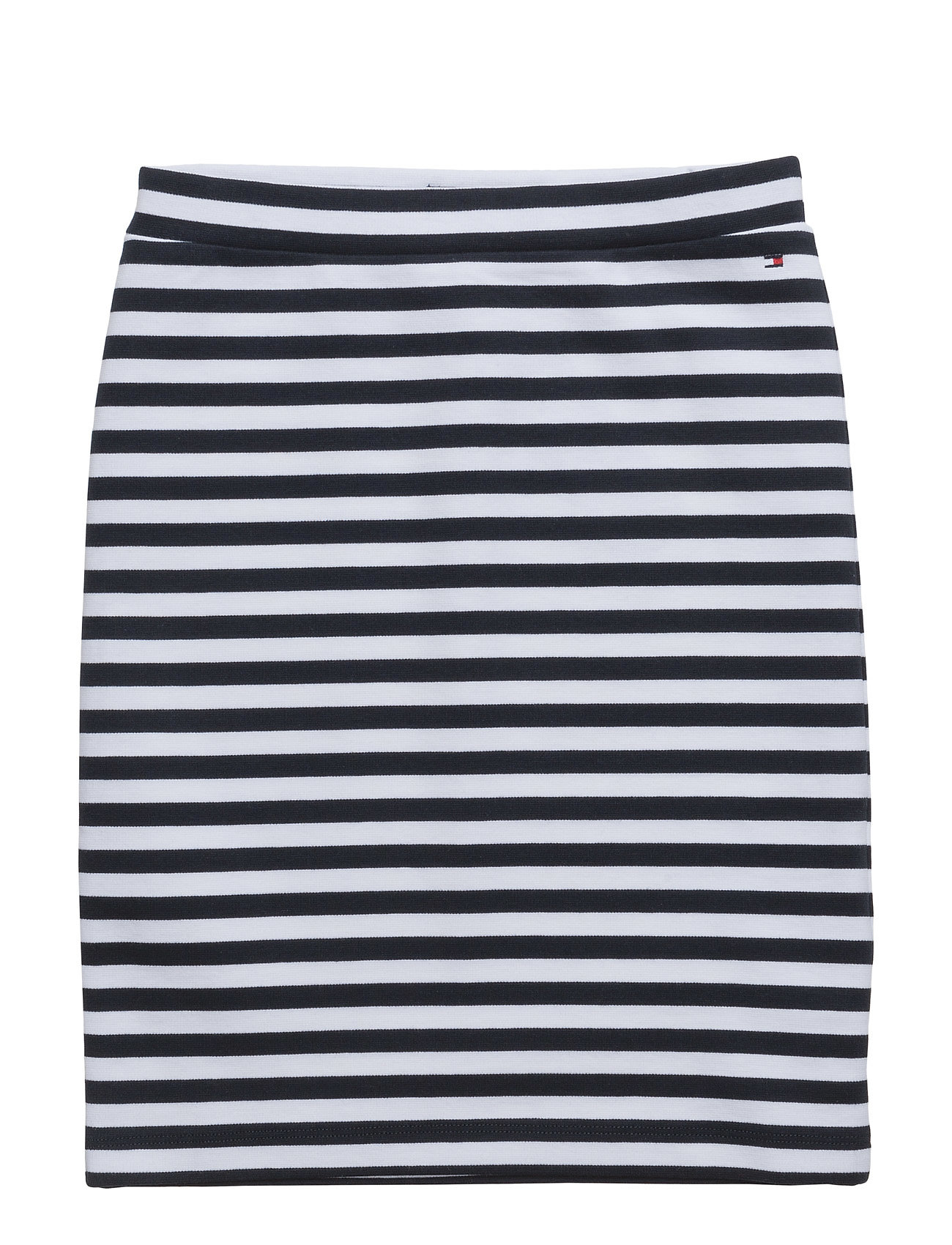 Ame Knitted Stripe Pencil Skirt Tommy Hilfiger Kjolar