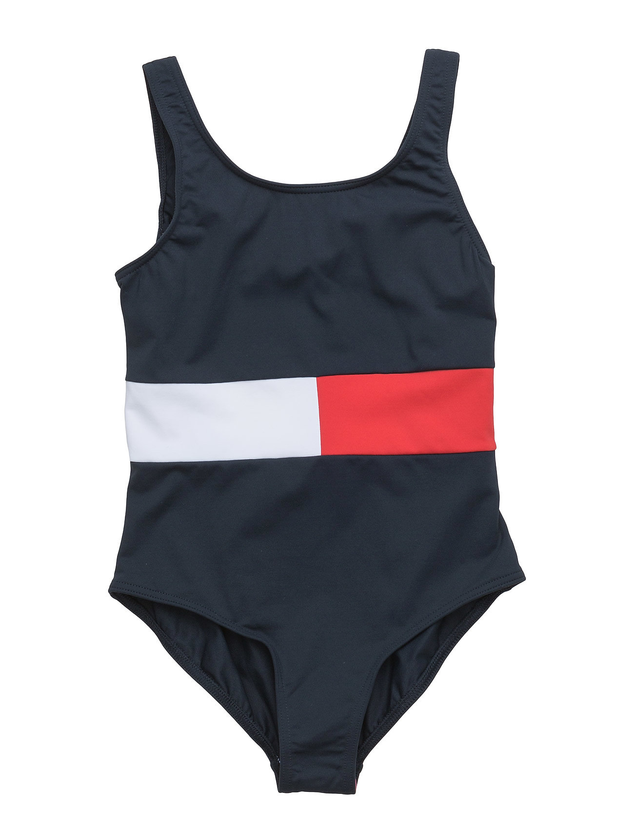 Flag Rwb Swimsuit Tommy Hilfiger Badetøj til Børn i Blå