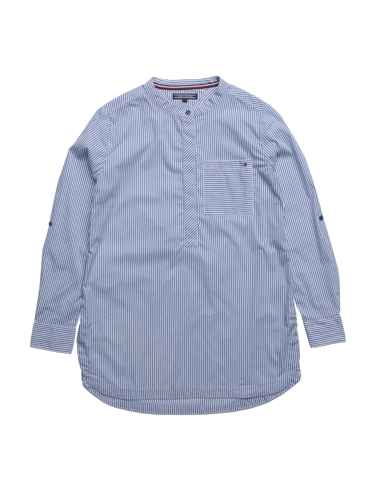 Ame stripe blouse l/s fra tommy hilfiger på boozt.com dk