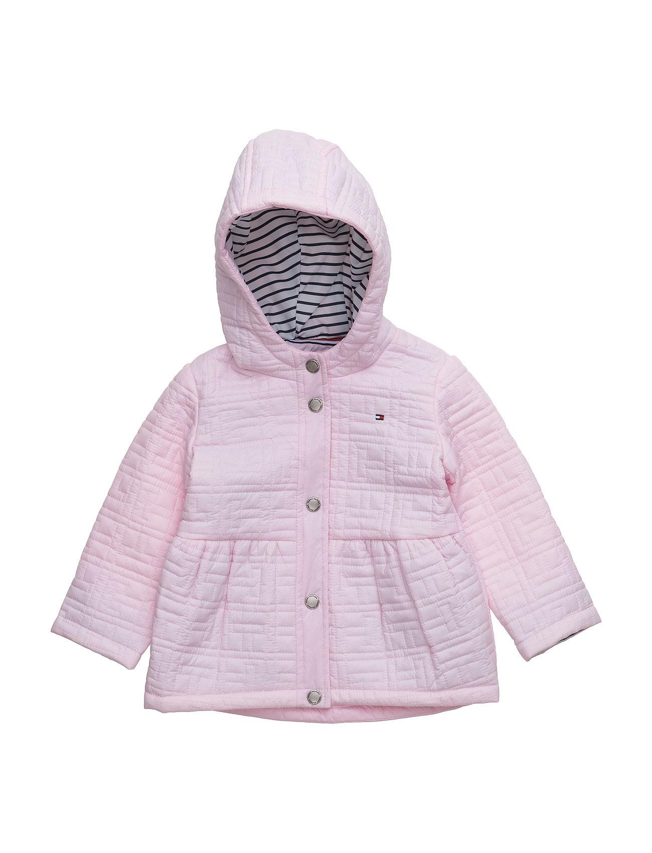 Thnb Baby Jacket Tommy Hilfiger Overtøj til Piger i Lyserød