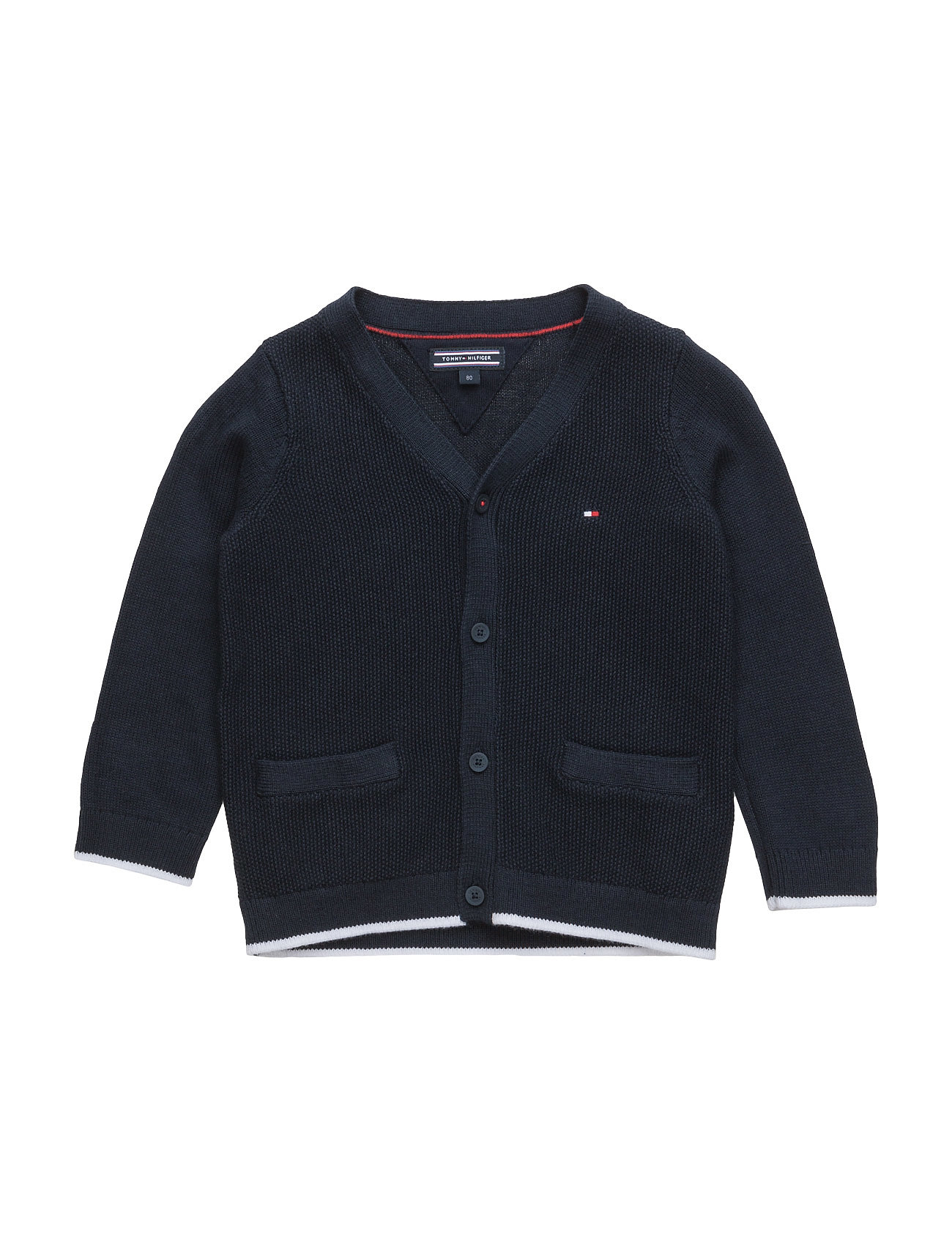 63390245bad Basic Baby Boy Cardigan L/S Tommy Hilfiger til - MoteJakten ...