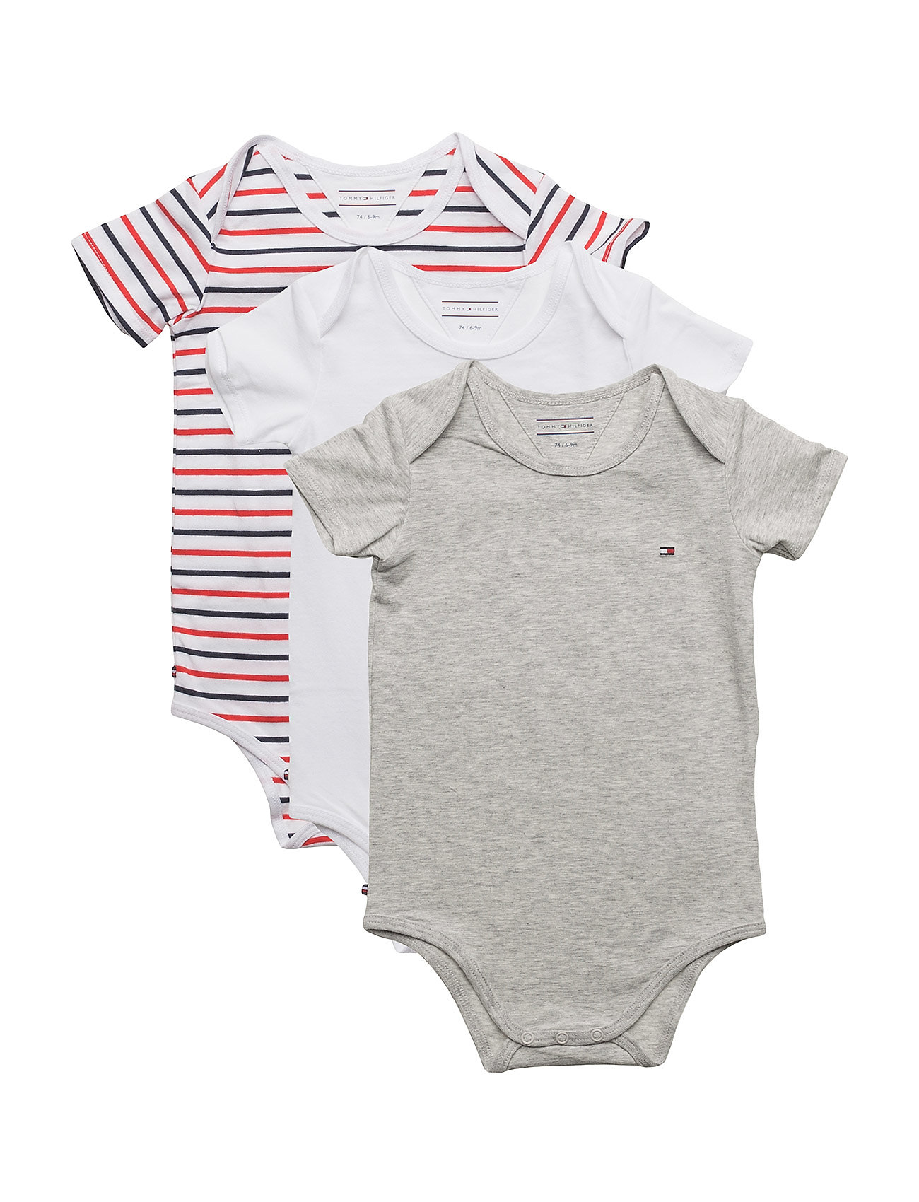 Tommy Hilfiger BODY S/S BABY 3 PACK