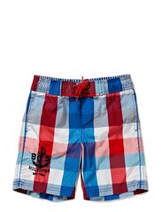 Tommy Hilfiger Kids MACK MULTI GINGHAM SWIMSHORT