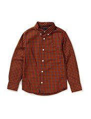 BI COLOR GINGHAM SHIRT L/S - 981