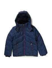 NEBRASKA DOWN JACKET - BLACK IRIS-PT