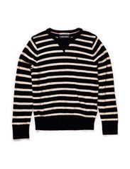 JACK STRIPE CN SWEATER L/S - 003