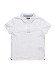 TOMMY POLO S/S, 100, - WHITE