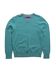 AME TOMMY VN  SWEATER L/S - BLUE