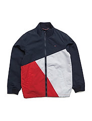 THKB COLORBLOCK JACKET - BLUE